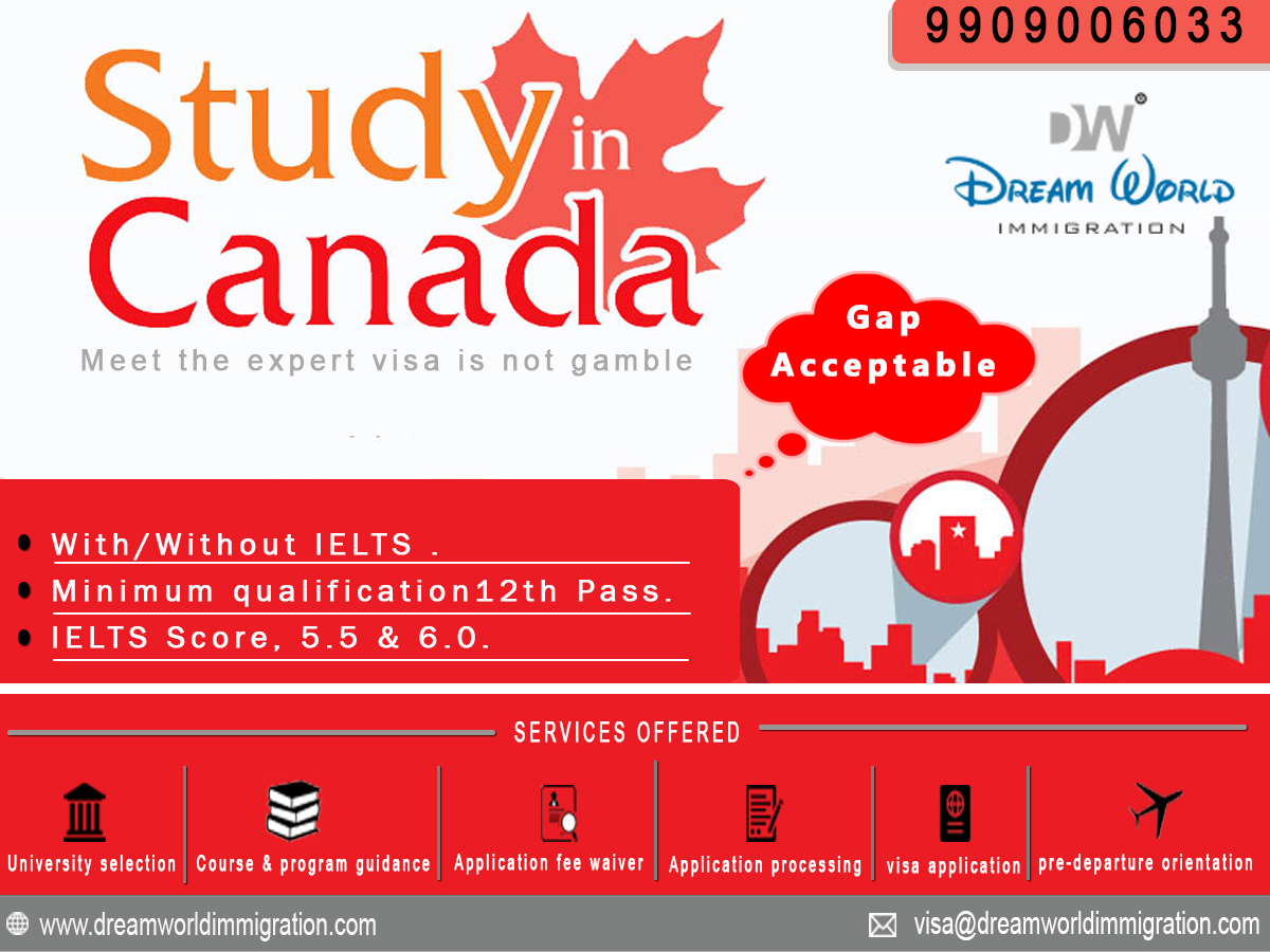 Canada Student Visa Without IELTS